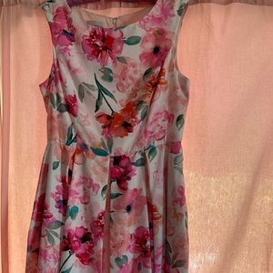 Donna Morgan Floral Dress Sz. 14